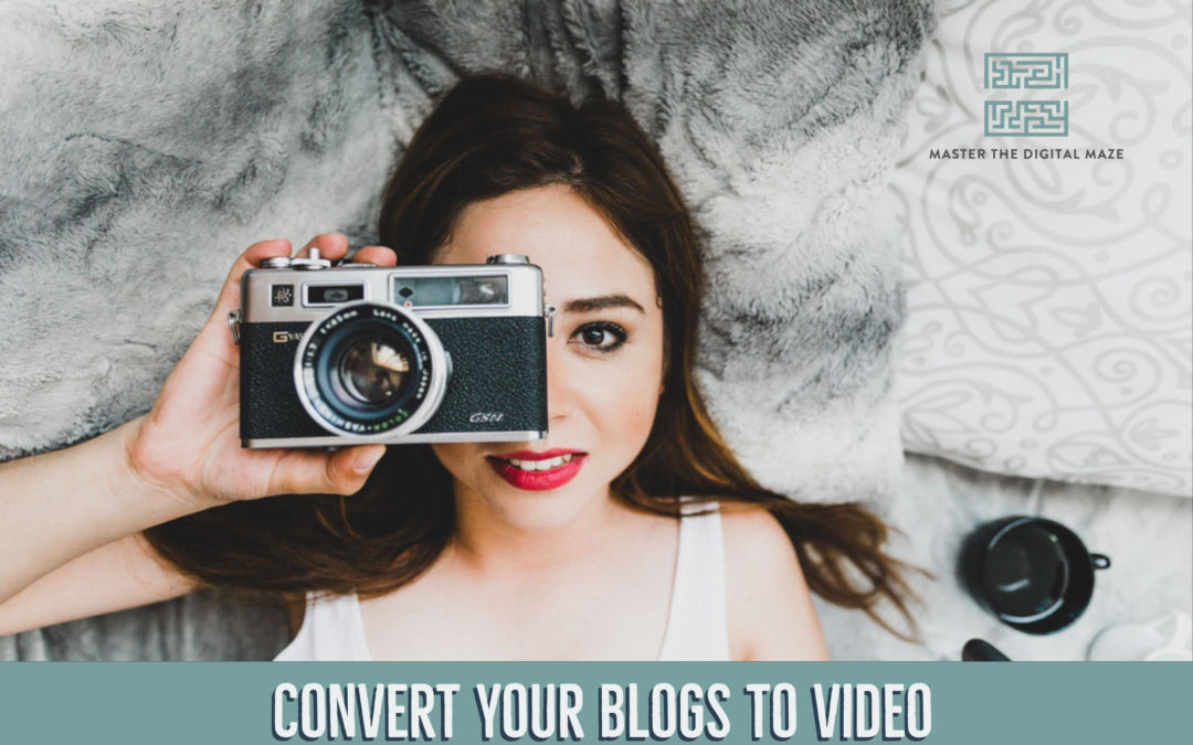 How To Convert Your Blogs To Video